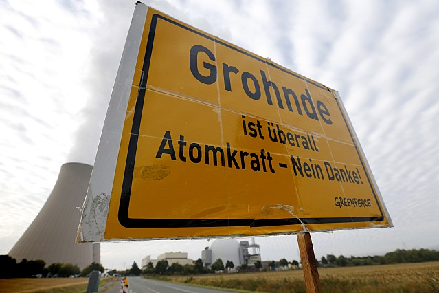 Aktion in Grohnde